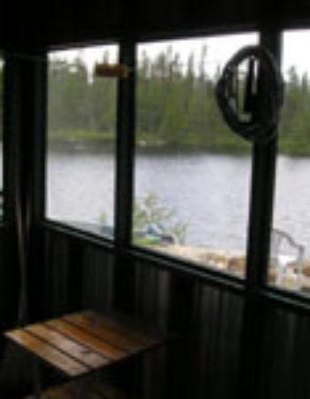 Air Ivanhoe Outpost on Atekepi Lake