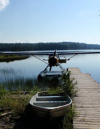 Air Ivanhoe Bayview Outpost on the Nemegosenda River