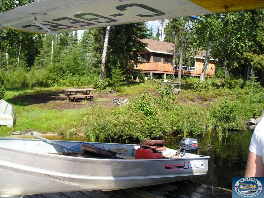 Air Ivanhoe Outpost on Beattie Lake