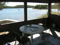 Air Ivanhoe Outpost on Biggs Lake