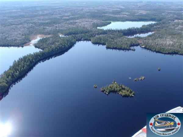Air Ivanhoe North Outpost on Bonar Lake
