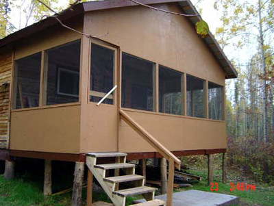 Big Hook Wilderness Camps Outpost on Cocos Lake
