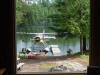 Air Ivanhoe Outpost on Forearm Lake