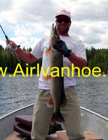 Air Ivanhoe Outpost on Katagi Lake