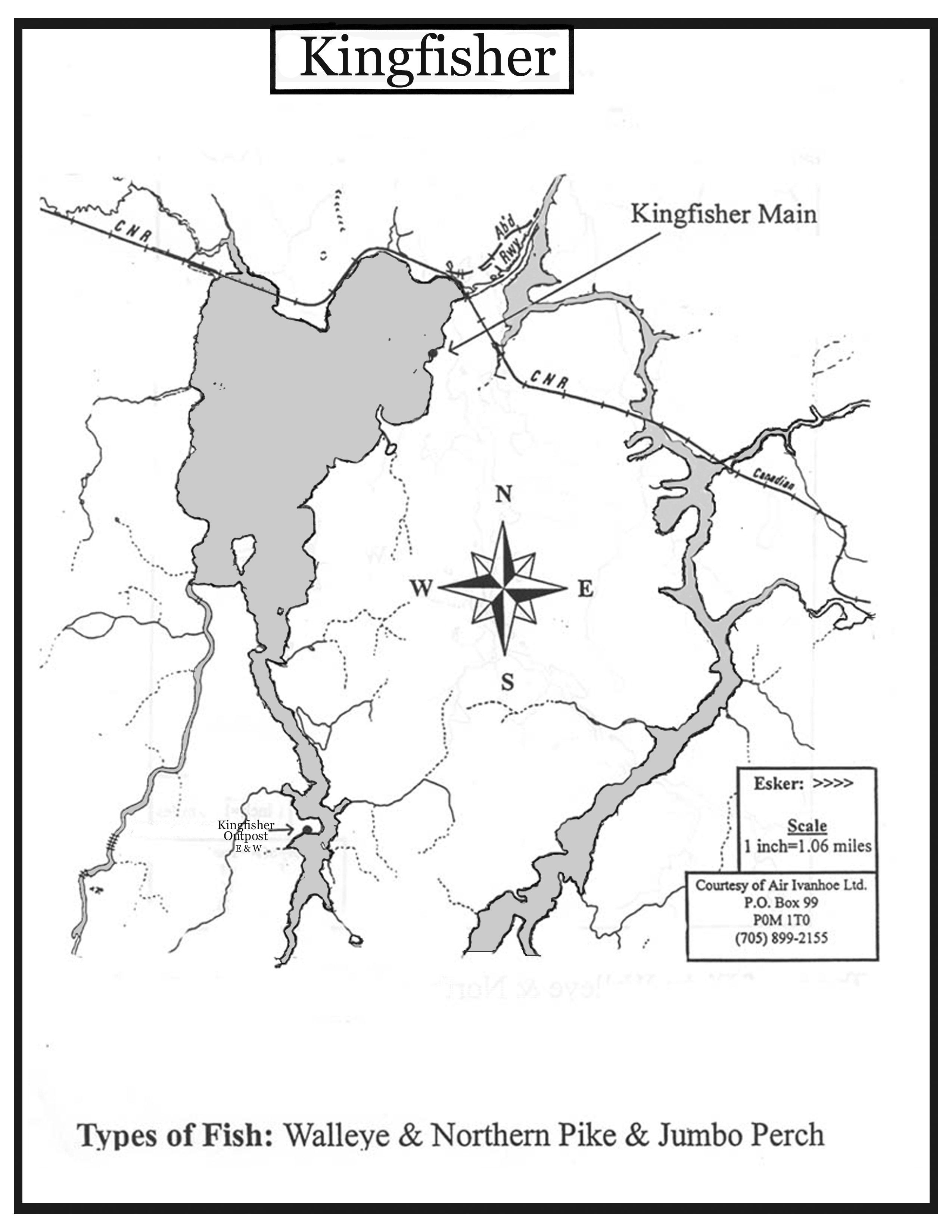 Air Ivanhoe Kingfisher Outpost on Kapuskasing Lake