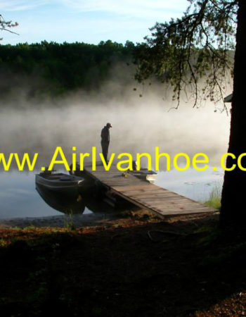 Air Ivanhoe Outpost on Lemoine Lake