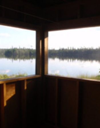 Air Ivanhoe Outpost on Lincoln Lake