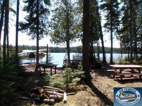 Air Ivanhoe Outpost on Little Lemoine Lake