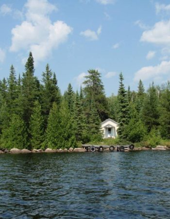 Air Ivanhoe Outpost on McConnell Lake