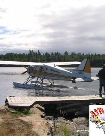 Air Ivanhoe Outpost on Northpoint Lake