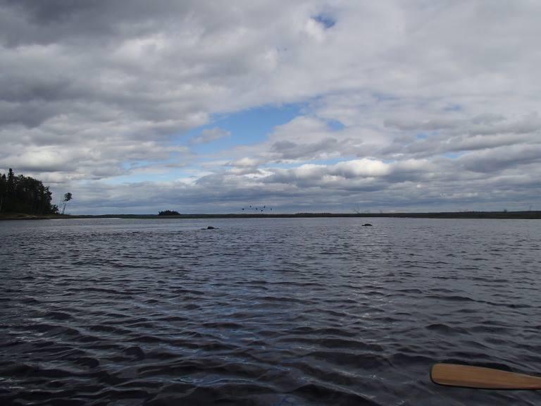 Namegosikaa Outpost on the Ogoki River