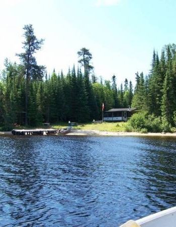Air Ivanhoe Outpost on Paul Lake