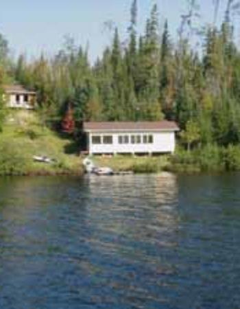 Air Ivanhoe Outpost on Paypeeshek Lake