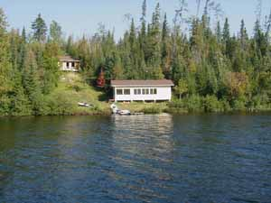 Air Ivanhoe Outpost on Paypeeshek Lake
