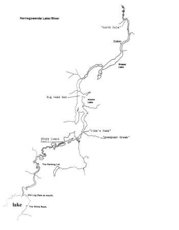 Air Ivanhoe Riverside Outpost on the Nemegosenda River