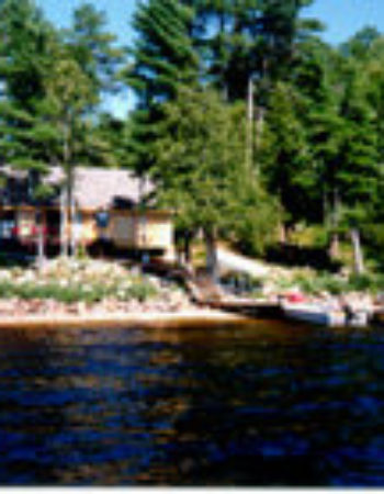 Air Ivanhoe Outpost on Rush Lake