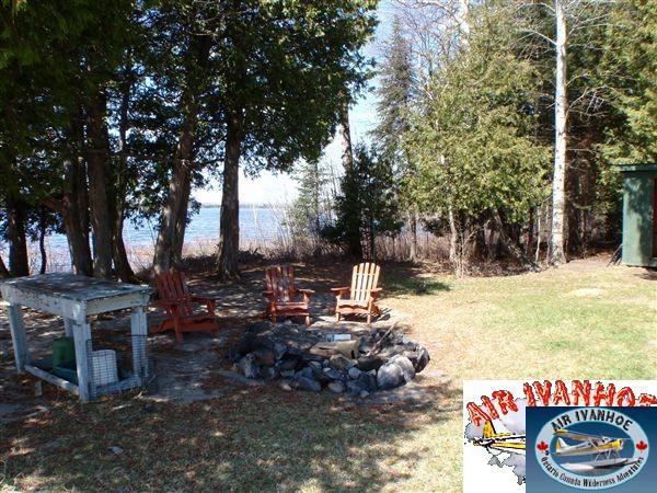 Air Ivanhoe Outpost on Schewabik Lake