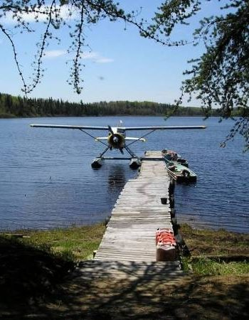 Air Ivanhoe Outpost on Shawmere Lake