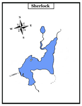 Air Ivanhoe Outpost on Sherlock Lake