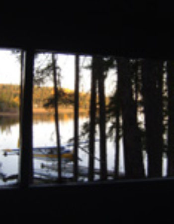 Air Ivanhoe Outpost on Shiner Lake