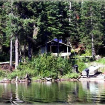 Allanwater Bridge Lodge Outpost on Burntrock Lake