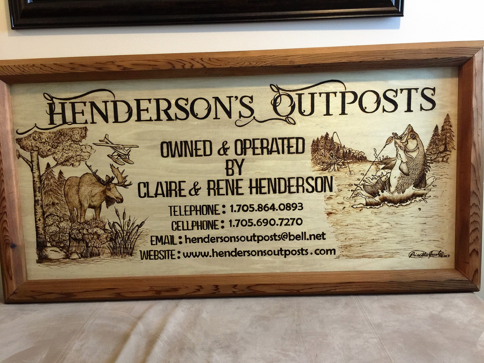 Henderson's Outposts