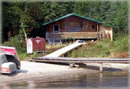 Allanwater Bridge Lodge Outpost on Seseganaga Lake