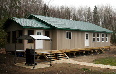Anderson's Lodge Tom's Landing Outpost on Lac Seul