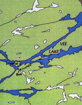 Amik Outposts Vee Lake Outpost