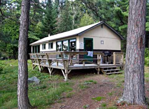 Blue Fox Camp Blue (Kirkpatrick) Lake Outpost