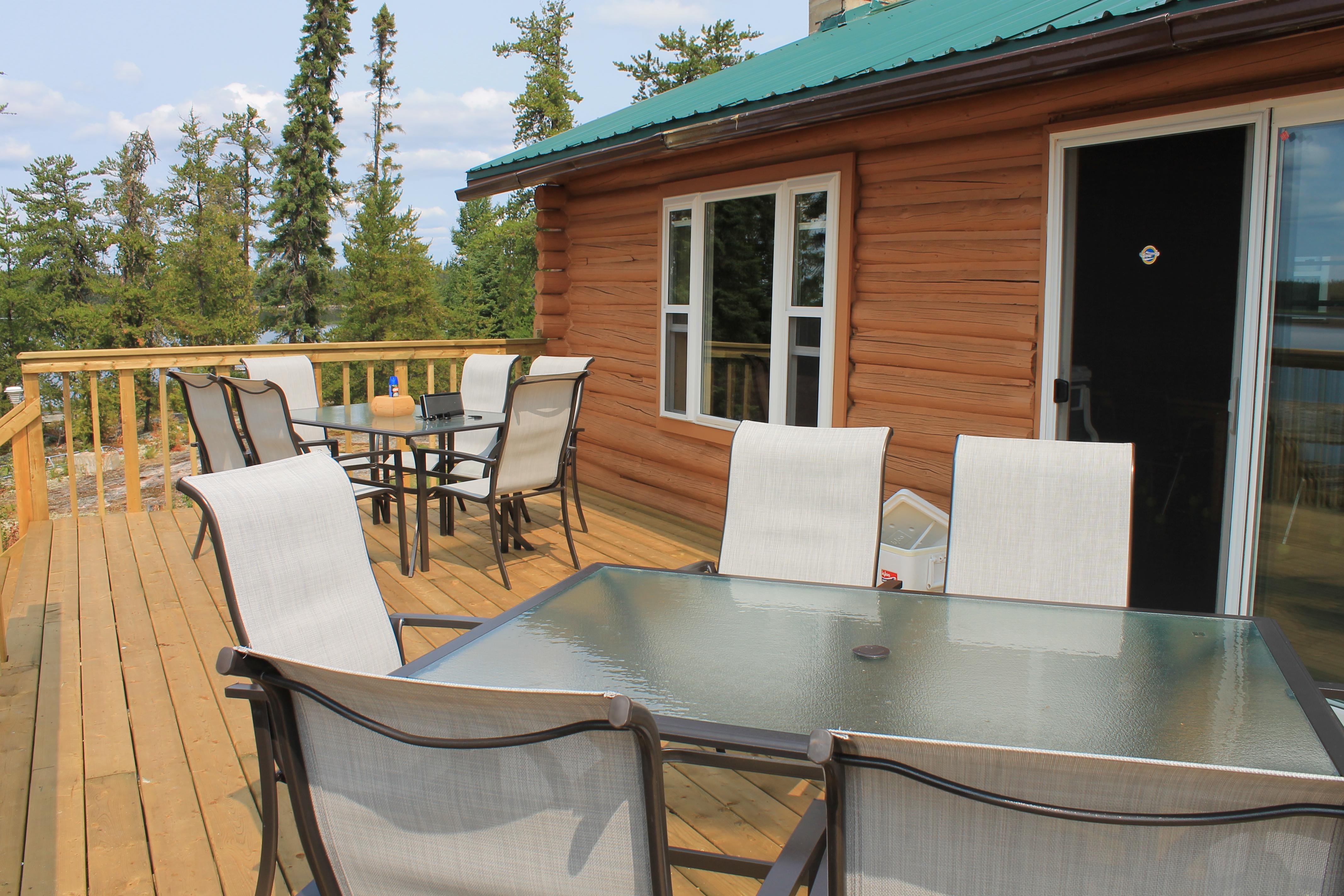 Rusty Myers Outposts Mini-Lodge on Brennan Lake