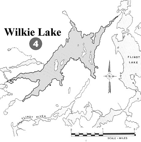 Rusty Myers Outposts Wilkie Lake Outpost