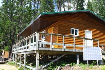 Canoe Canada Outfitters Bow Lake Outpost