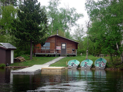 Canadian Fly-In Outposts Entwine Lake Outpost