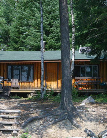 Canoe Canada Outfitters Halfmoon Lake Outpost