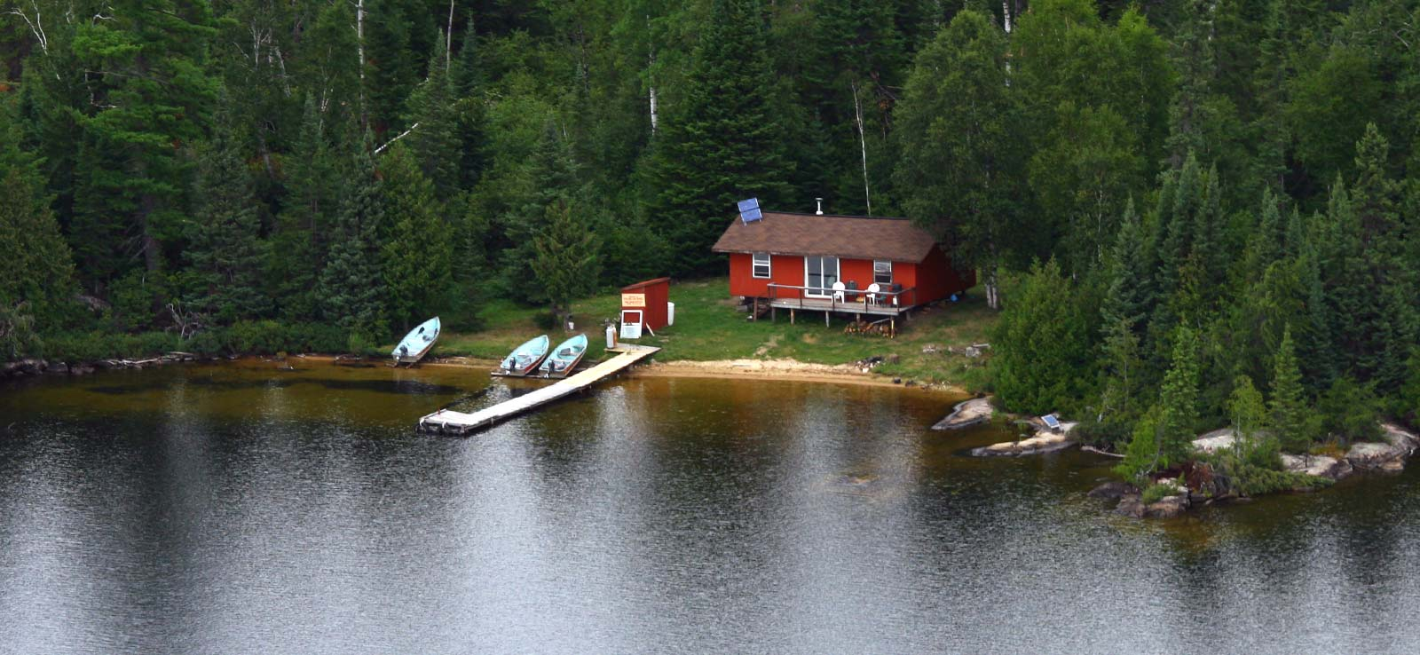 Canoe Canada Outfitters Little Gull Lake Outpost