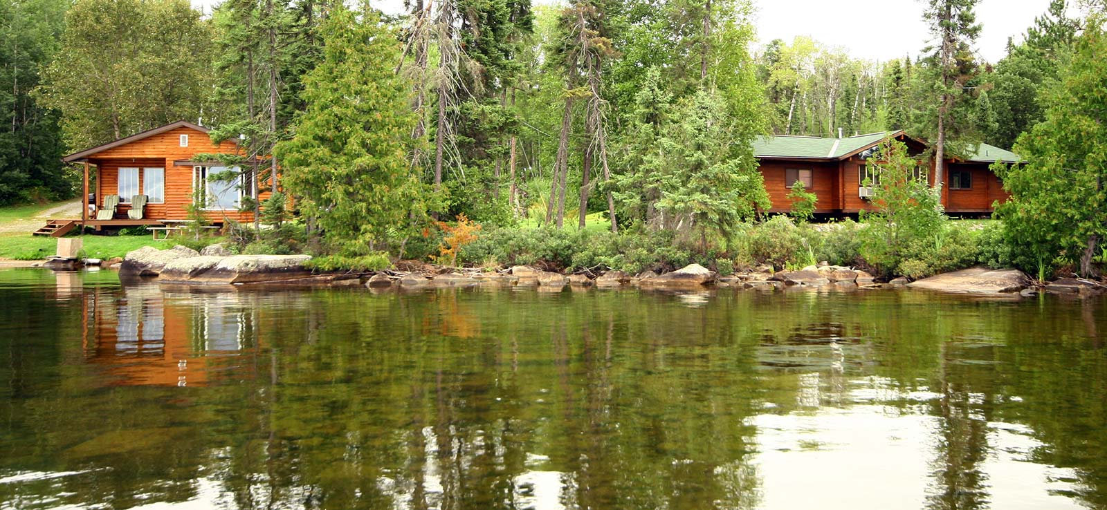 Canoe Canada Outfitters Nym Lake Cabin