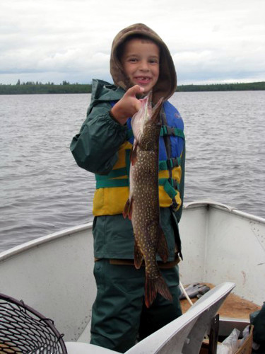 Canadian Fly-In Fishing South Outpost on Peisk Lake