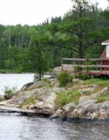 Canoe Canada Outfitters Marmion Lake Sawbill Bay Outpost