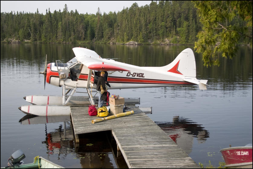 Canadian Fly-In Outposts Upper Frypan Lake Outpost