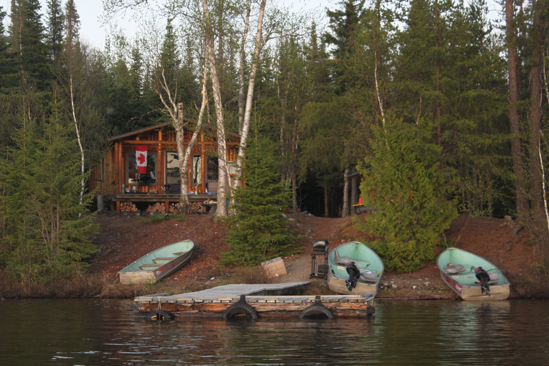 Deep Wilderness Outposts Cerulean Lake Outpost