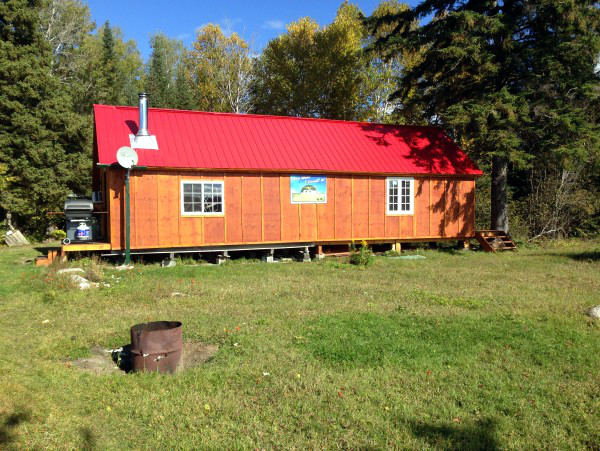 Glassy Bay Outfitters Lower Bark Lake Outpost