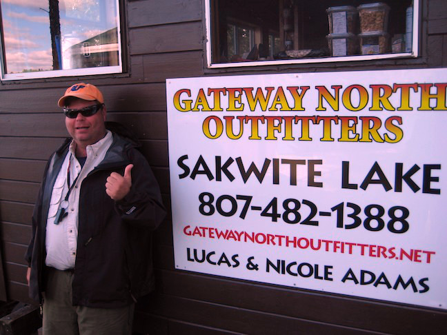 Gateway North Outfitters Sakwite Lake Outpost