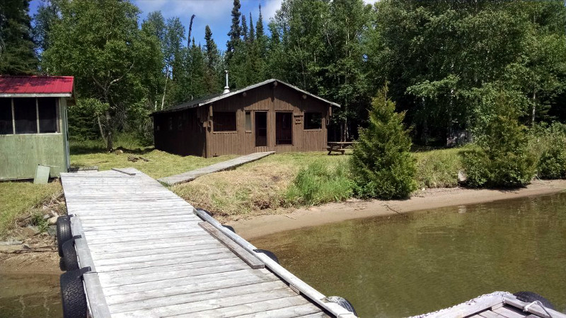 Birch Bark Lodge Troutfly Lake Outpost