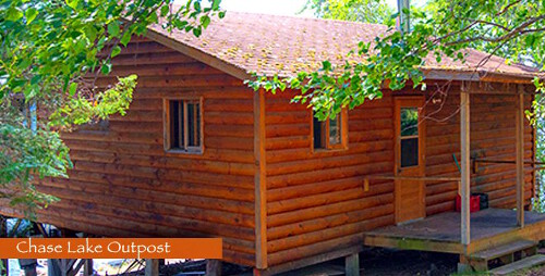 Halley's Camps Chase Lake Outpost