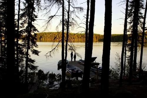 Hidden Bay Lodge Raggedwood Lake Outpost