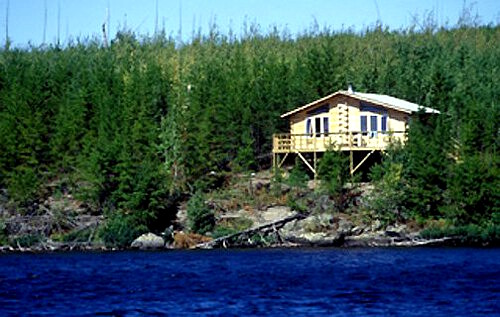 Halley's Camps Rex Lake Outpost