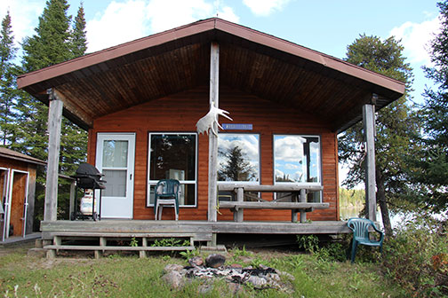 Halley's Camps Right Lake Outpost