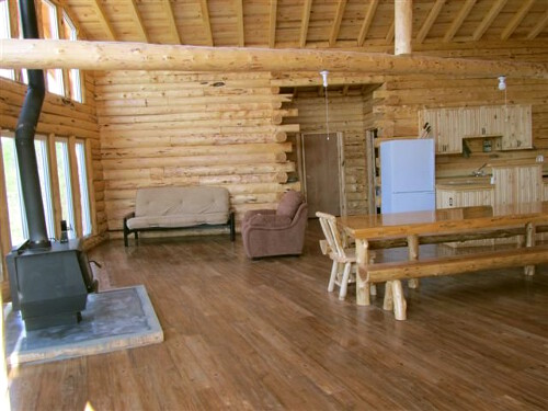 Halley's Camps Trapline Lake Outpost