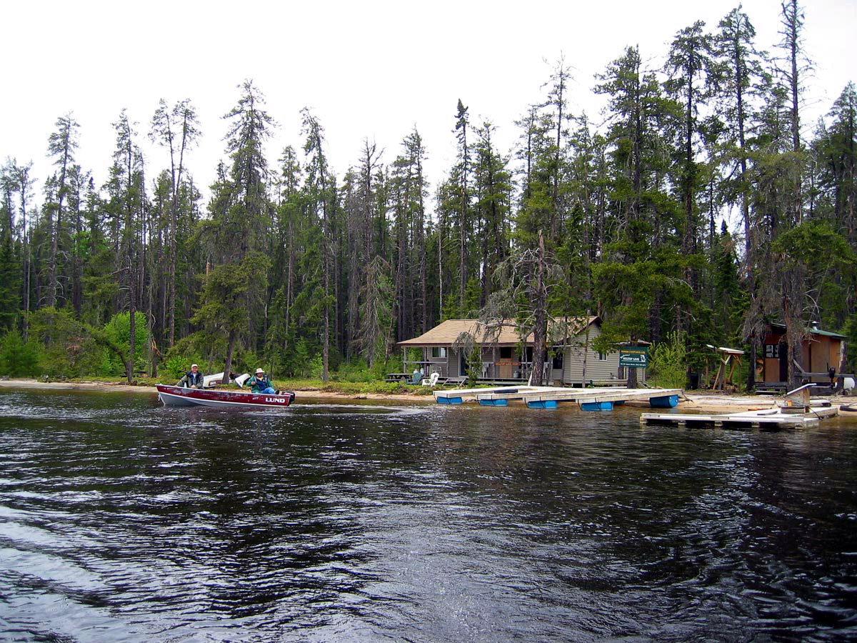 Ignace Outposts Hilltop Lake Outpost